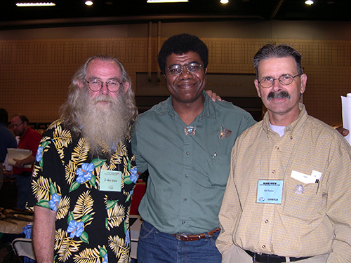 Chuck Evans, Charles Pinckney and Bill Fiorini